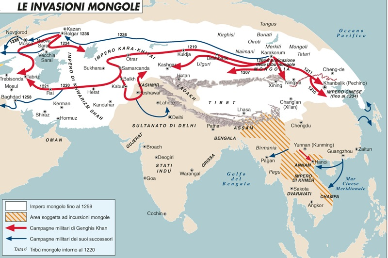 Invasioni mongole