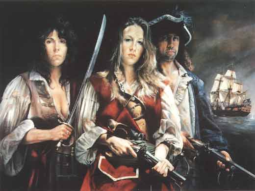 Mary Read, Anne Bonny, Calico Jack